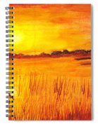 Loxahatchee Sunrise Spiral Notebook