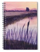 Loxahatchee Sunset Spiral Notebook
