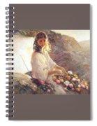 lrsCOL014Royo UltimaLuz Jose Royo Spiral Notebook