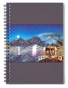 lrsMHD031HarrisonMark MasksoftheMasters Mark Harrison Spiral Notebook