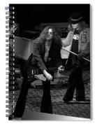 Ls #42 Crop 2 Spiral Notebook