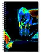 Ls #43 Cosmically Enhanced Spiral Notebook