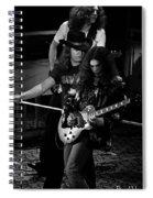 Ls #45 Crop 3 Enhanced Bw Spiral Notebook