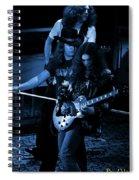 Ls #45 Crop 3 Enhanced In Blue Spiral Notebook