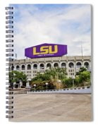Lsu Tiger Stadium Spiral Notebook