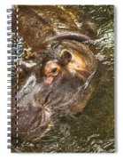 Lu The Homossasa Hippo I I Spiral Notebook