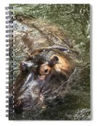 Lu The Homosassa Hippo Spiral Notebook