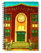 Lubavitch Synagogue Spiral Notebook