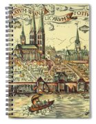 Lubeck, Germany Spiral Notebook