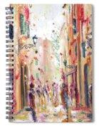 Lucca Street Spiral Notebook