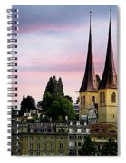 Lucerne 8 Spiral Notebook