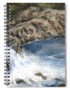 Lucia Falls Summer Spiral Notebook