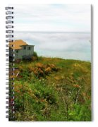 Lucia Morning - Big Sur Coast Spiral Notebook