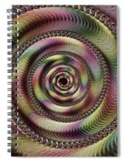 Lucid Hypnosis Abstract Wall Art Spiral Notebook