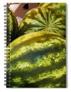 Lucious Watermelon Spiral Notebook