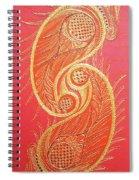 Lucknow's Chikangari Spiral Notebook