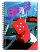Lucky 5 Spiral Notebook