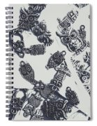 Lucky Charms Of Wise Old Owls Spiral Notebook