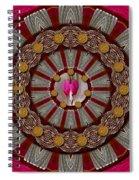 Lucky Clover For Good Luck Spiral Notebook