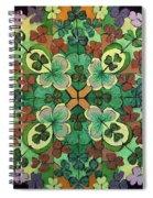 Lucky Day  Mandala Spiral Notebook