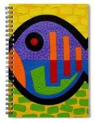 Lucky Fish II  Spiral Notebook