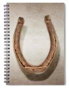 Lucky Horseshoe Spiral Notebook
