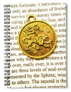 Lucky Leo Charms Spiral Notebook