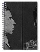 Lucky Luciano Spiral Notebook