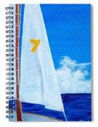 Lucky Seven Spiral Notebook