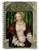 Lucretias Suicide Spiral Notebook