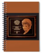 Lucy Sca Plaque  Spiral Notebook