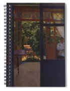 Ludmila In The Garden Chernomor On The Subject Of The Poem Of Pushkins Ruslan And Lyudmila 1897 Konstantin Andreevich 1869-1939 Somov Spiral Notebook