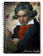Ludwig Van Beethoven 1820 Spiral Notebook