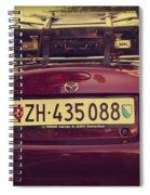 Luggage Spiral Notebook