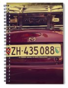 Luggage Spiral Notebook