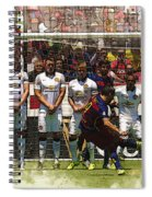 Luis Suarez Hits The Post Spiral Notebook