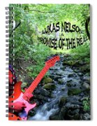 Lukas By The Creek 2 Spiral Notebook