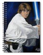 Luke Skywalker Spiral Notebook