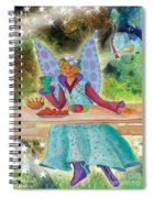 Lulu Beth Twinkle At The Banquet Spiral Notebook