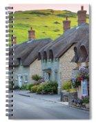Lulworth Cottages Spiral Notebook