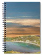 Lulworth Cove Spiral Notebook