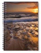 Lumaha'i Dawn Spiral Notebook