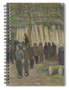 Lumber Sale Nuenen  January 1884 Vincent Van Gogh  1853  1890 Spiral Notebook