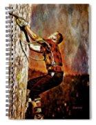 Lumberjack  Spiral Notebook