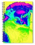 Luminescent Lynda Spiral Notebook