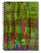 Luminous Landscape Abstract Spiral Notebook