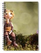 Lumuel In Spring Spiral Notebook