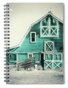 Luna Barn Teal Spiral Notebook