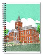 Luna County Court House  Deming  N M   Spiral Notebook