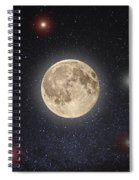 Luna Lux Spiral Notebook